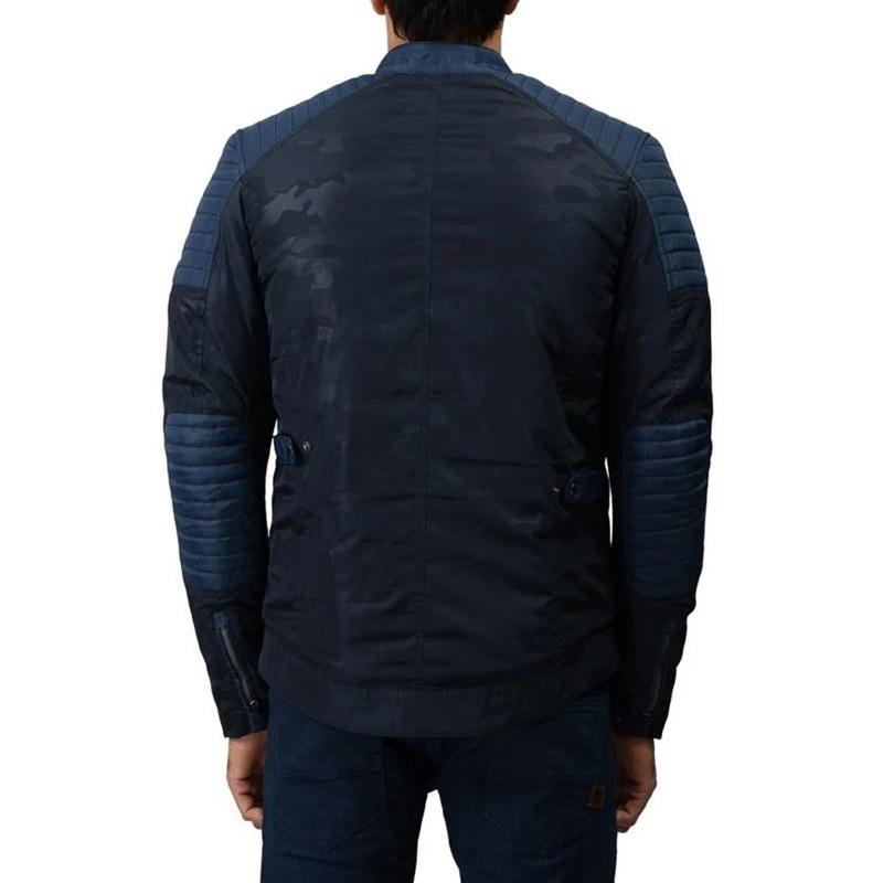 APEX P 네이비 카모 재킷