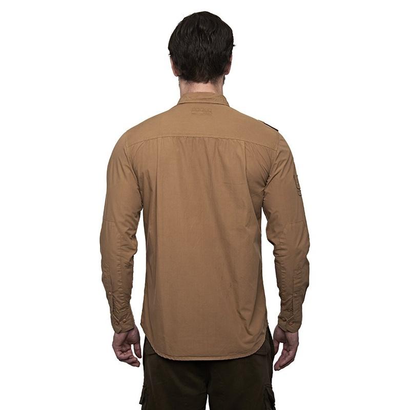 홀스터 카키 긴팔 셔츠