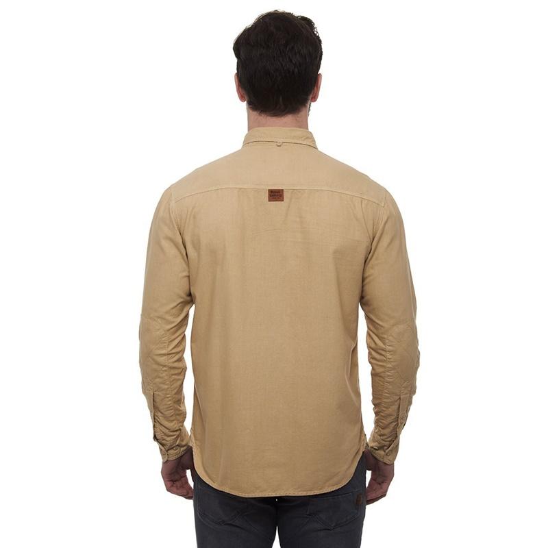옥스포드 셔츠 카키 브라운 긴팔셔츠