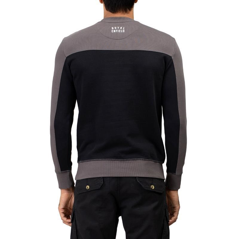 클라시코 차콜 긴팔 스웨터-4