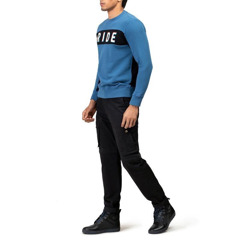 클라시코 블루 긴팔 스웨터