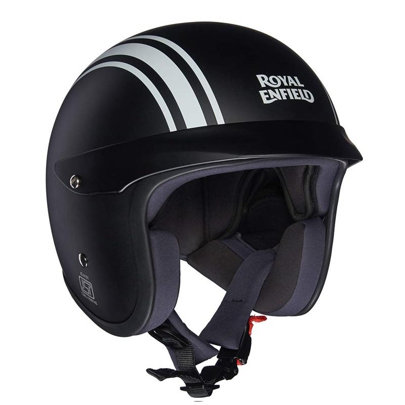 매트 블랙 오픈 페이스 헬멧 -3