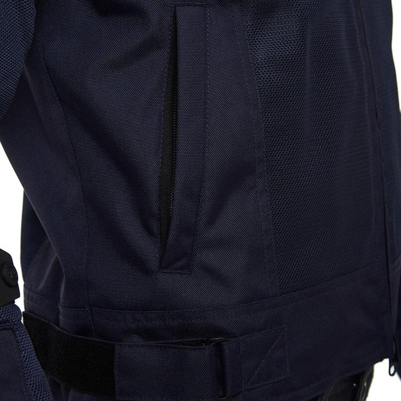 푸시카 네이비 메시 재킷