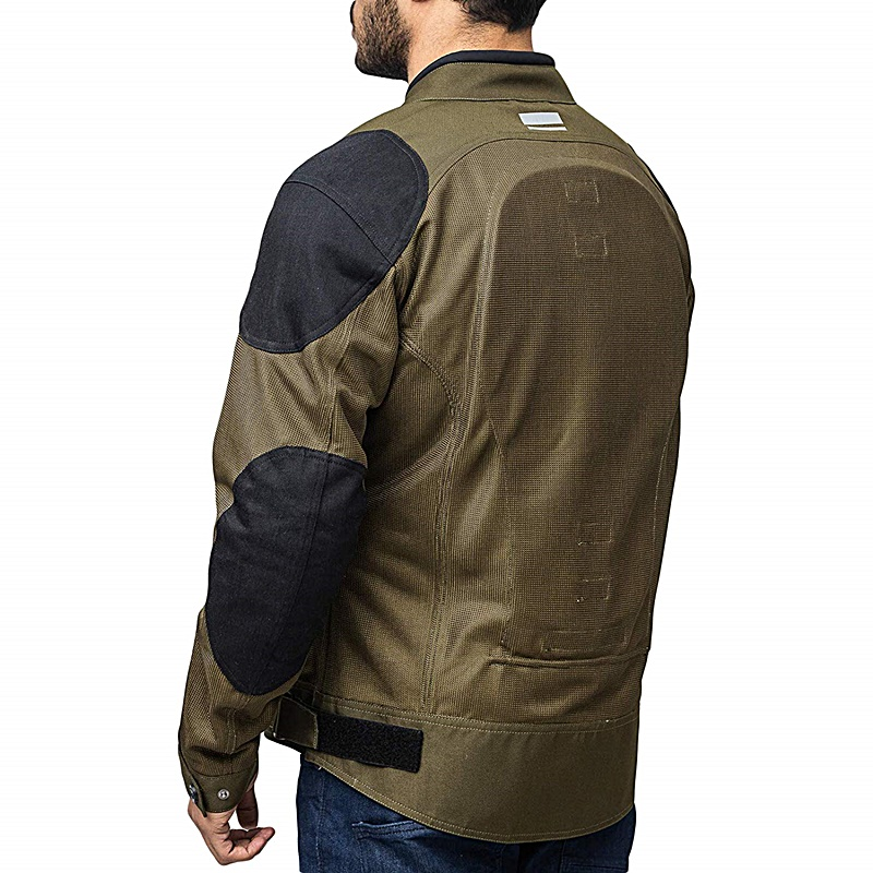보이저 라이딩 메시 올리브 재킷