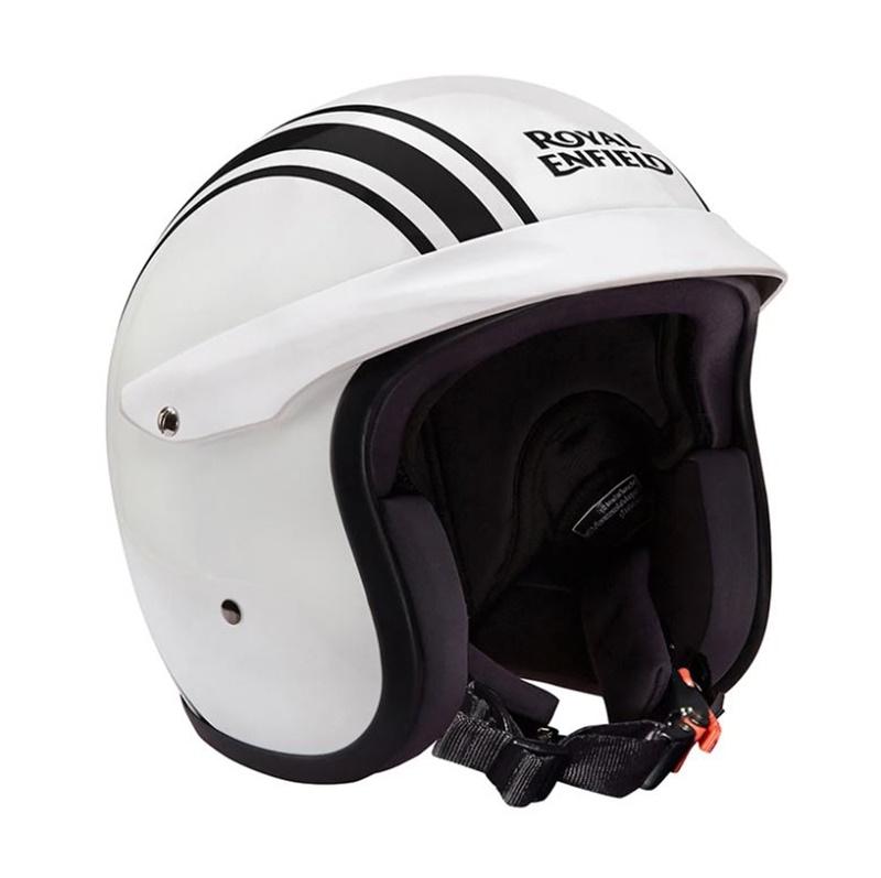 글로스 화이트 오픈페이스 헬멧