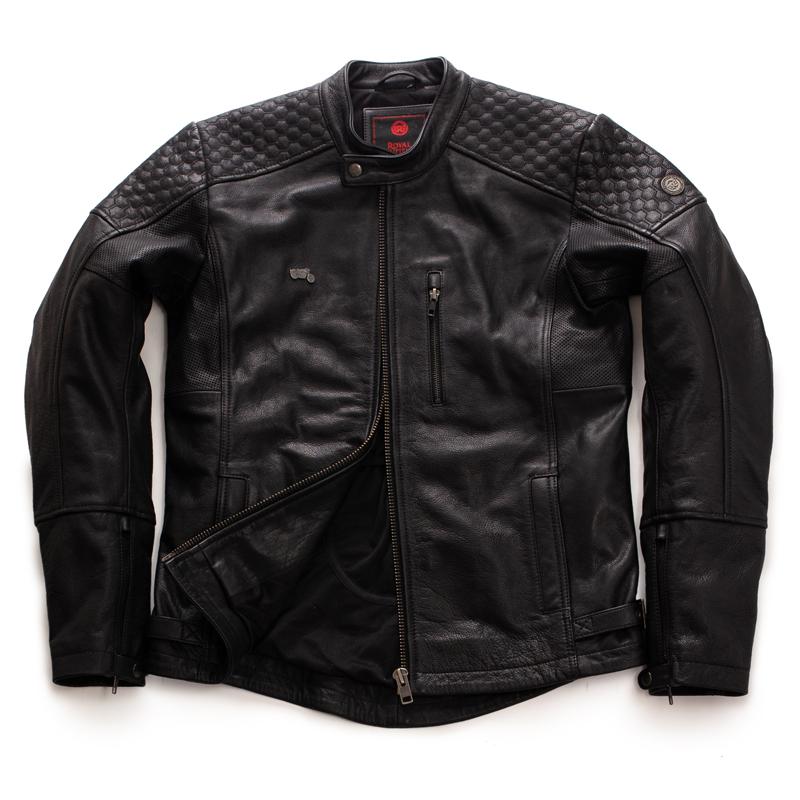 스피릿 블랙 가죽 재킷-1