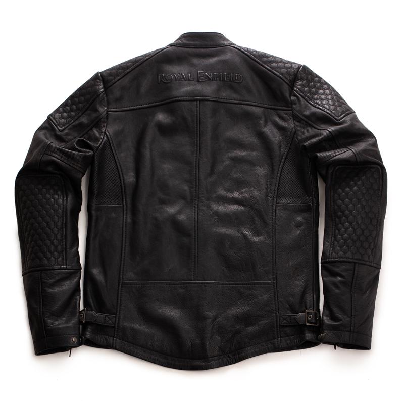 스피릿 블랙 가죽 재킷-2