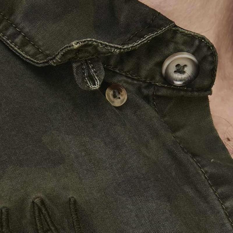 카무플라주 올리브 셔츠-3