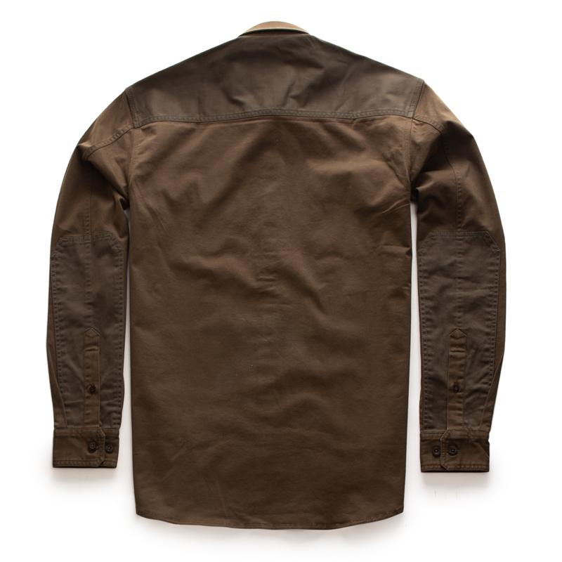 투러 올리브 긴팔 셔츠-2