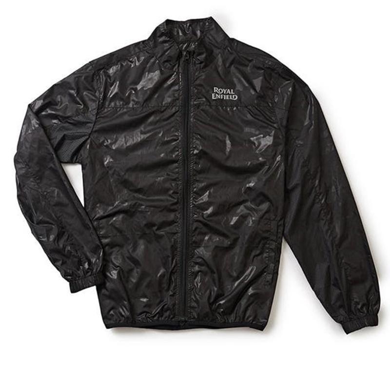 ALL-TIME 블랙 바람막이 재킷-1