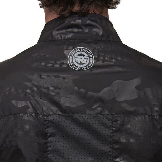 ALL-TIME 블랙 바람막이 재킷-5