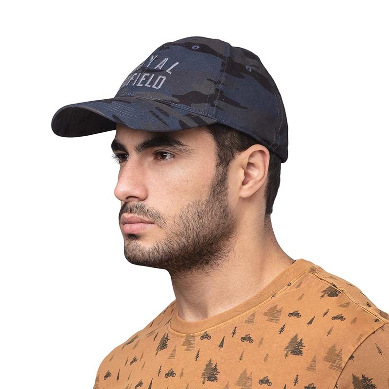에센셜 카모 그레이 야구 모자-4