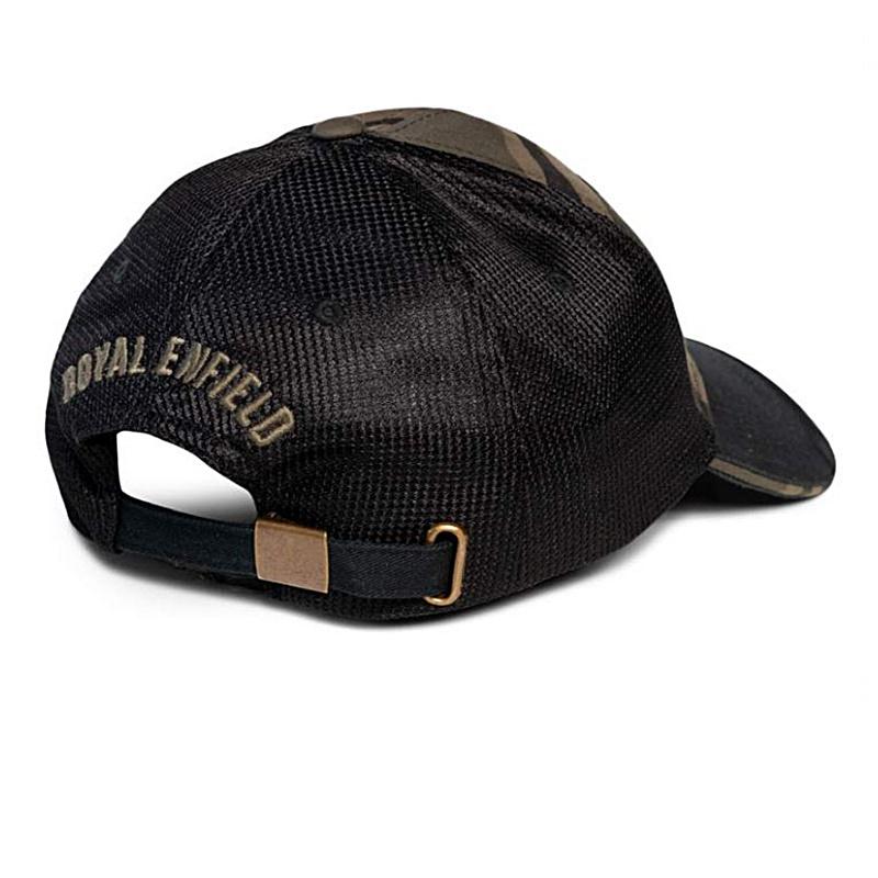 트럭 카모 올리브 야구 모자-4