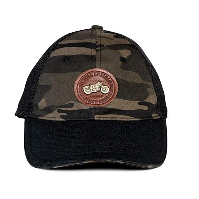 트럭 카모 올리브 야구 모자-2