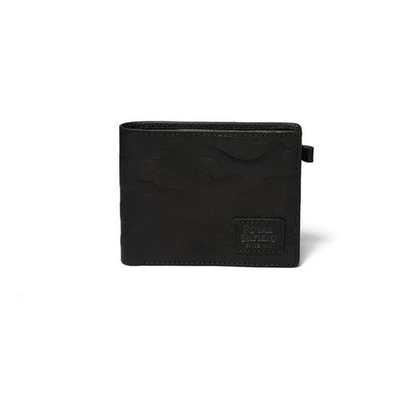 카모 블랙 반지갑-1