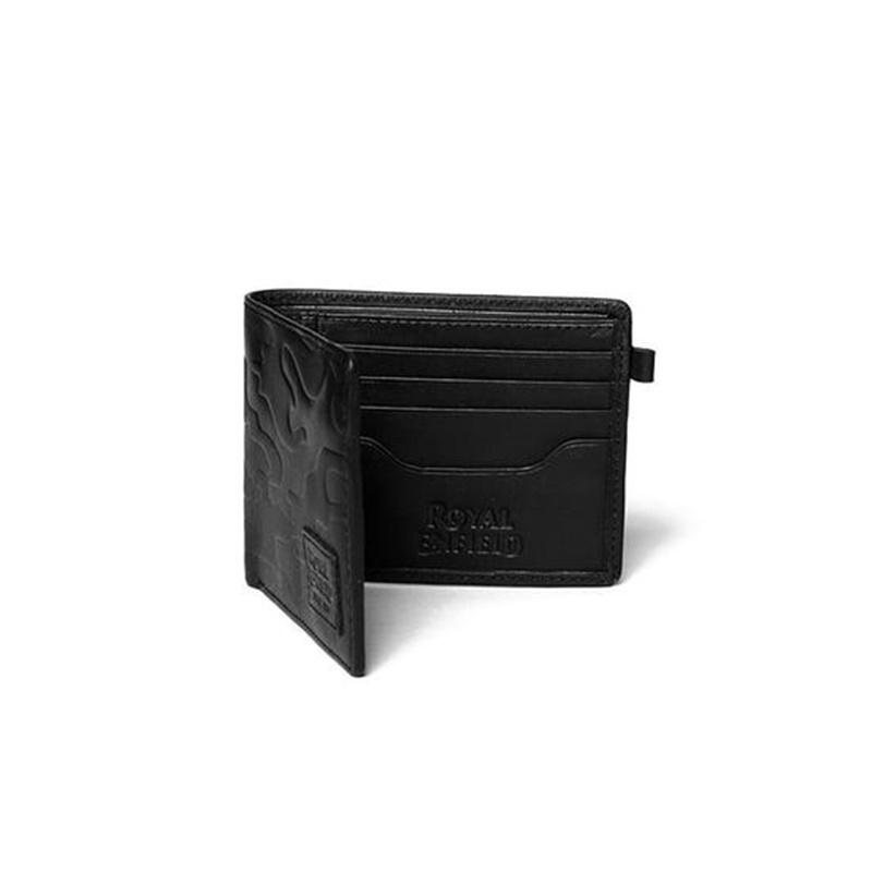 카모 블랙 반지갑-2