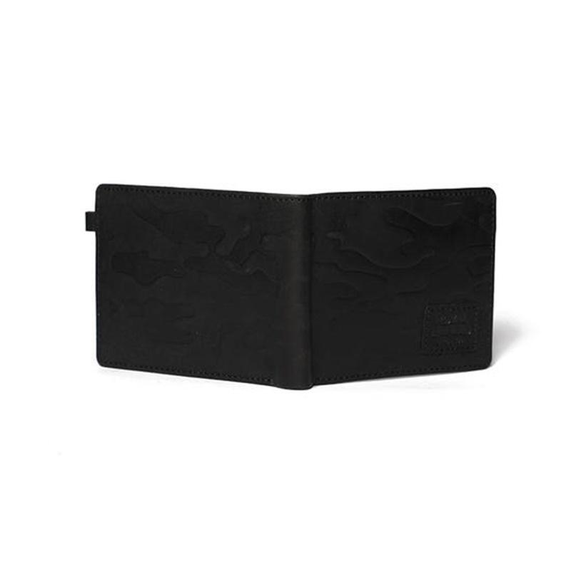 카모 블랙 반지갑-4
