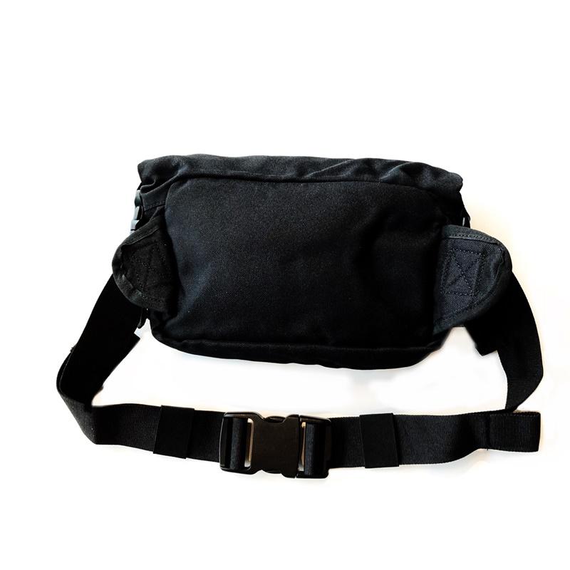 에코 텍티컬 블랙 허리 파우치-5