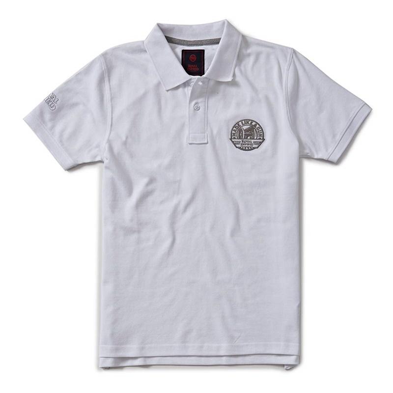 엔자임 화이트 폴로 반팔 티셔츠1