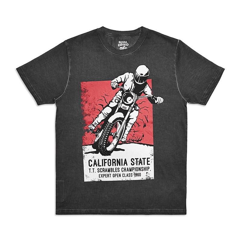칼리포스터 블랙 반팔 티셔츠1