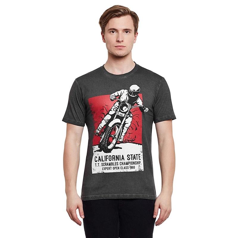 칼리포스터 블랙 반팔 티셔츠3
