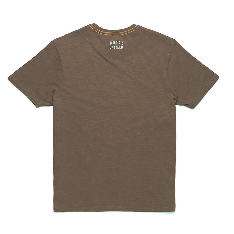 라이드 퓨어 올리브 반팔 티셔츠-2