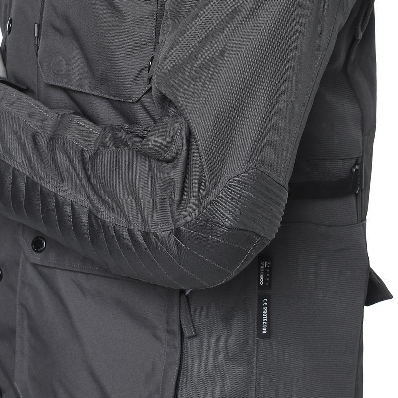 카르둥라 V2 그레이 라이딩 재킷-10