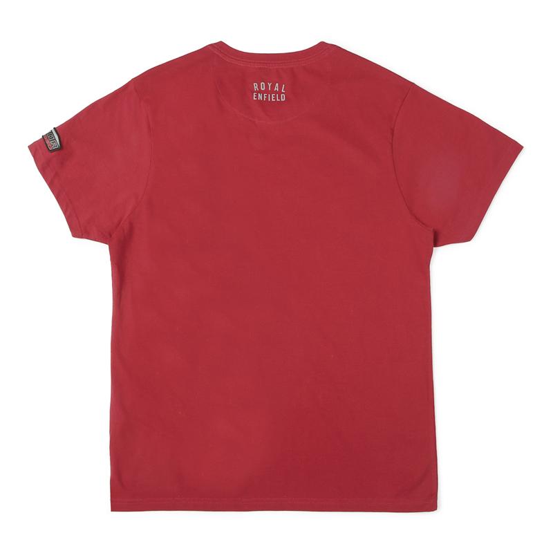 메테오 레드 반팔 티셔츠-2
