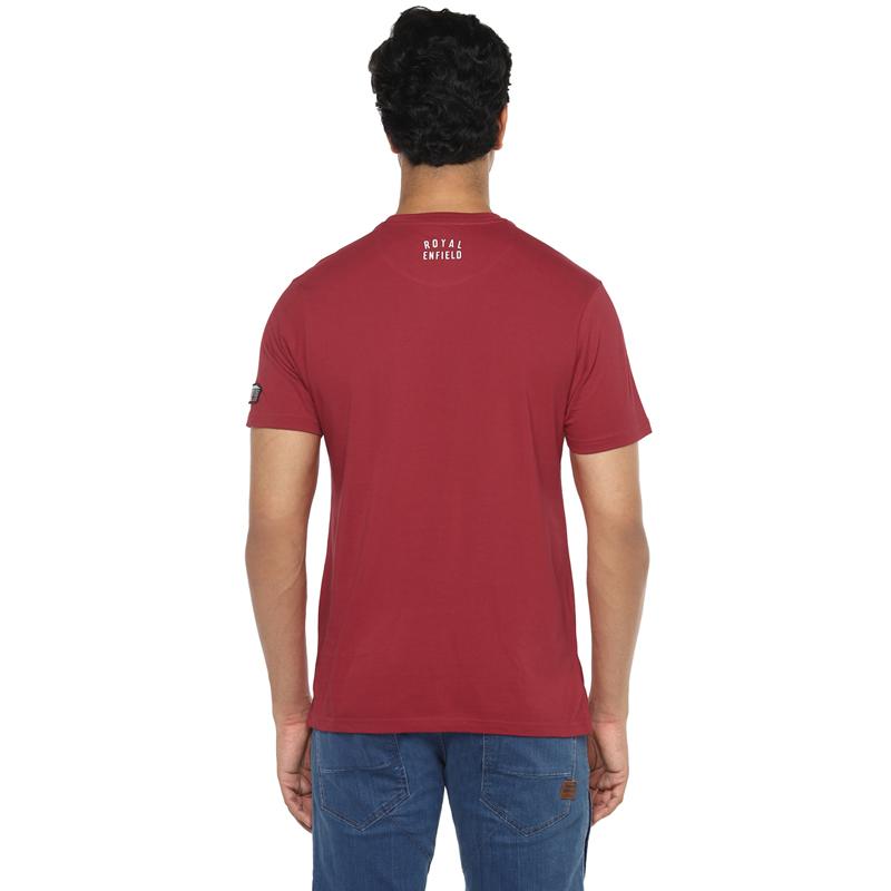메테오 레드 반팔 티셔츠-4