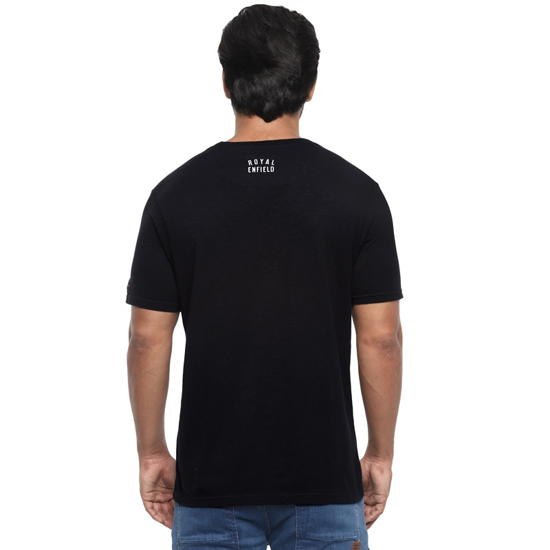 클래식 블랙 반팔 티셔츠-2