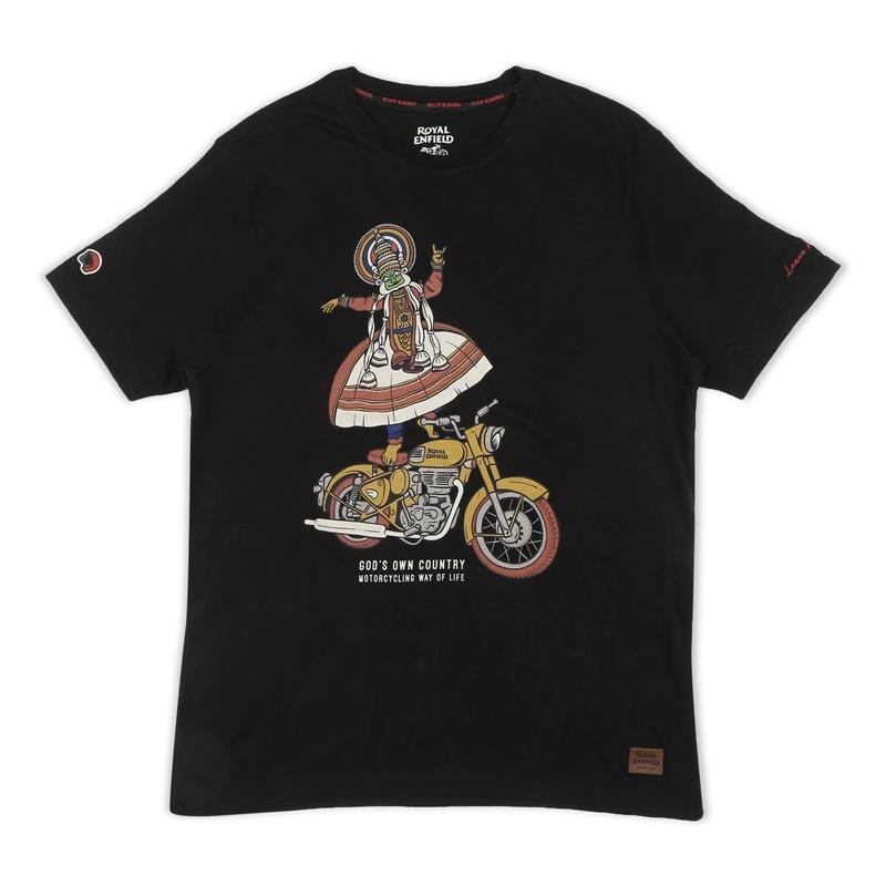 클래식 블랙 반팔 티셔츠-4