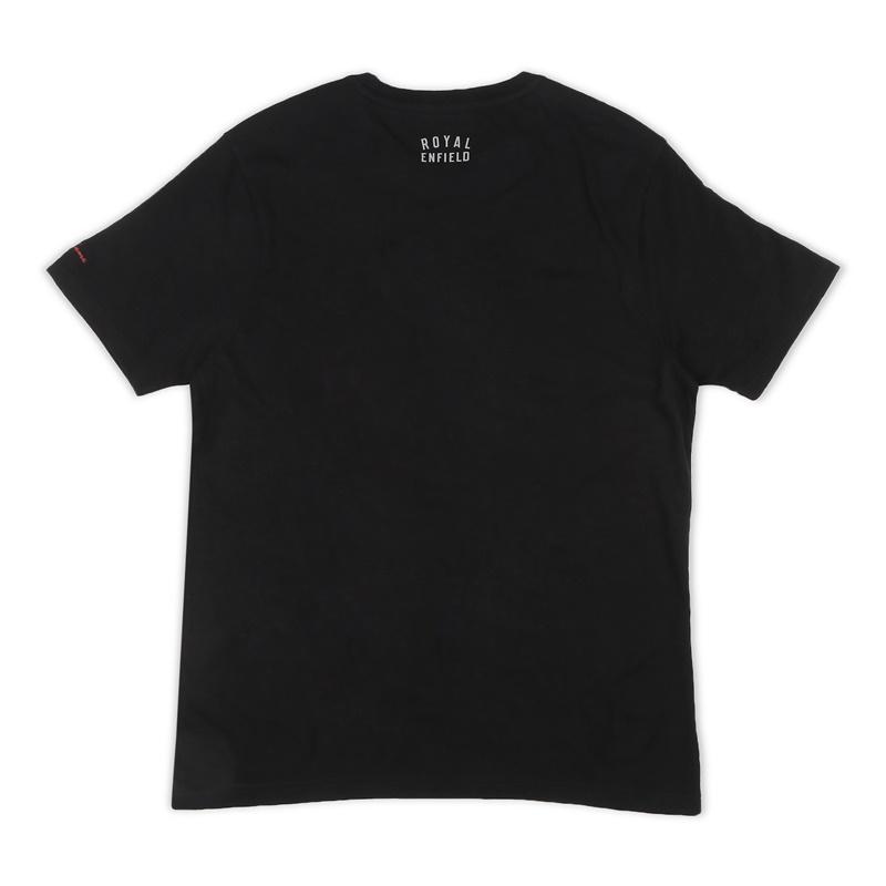 클래식 블랙 반팔 티셔츠-5