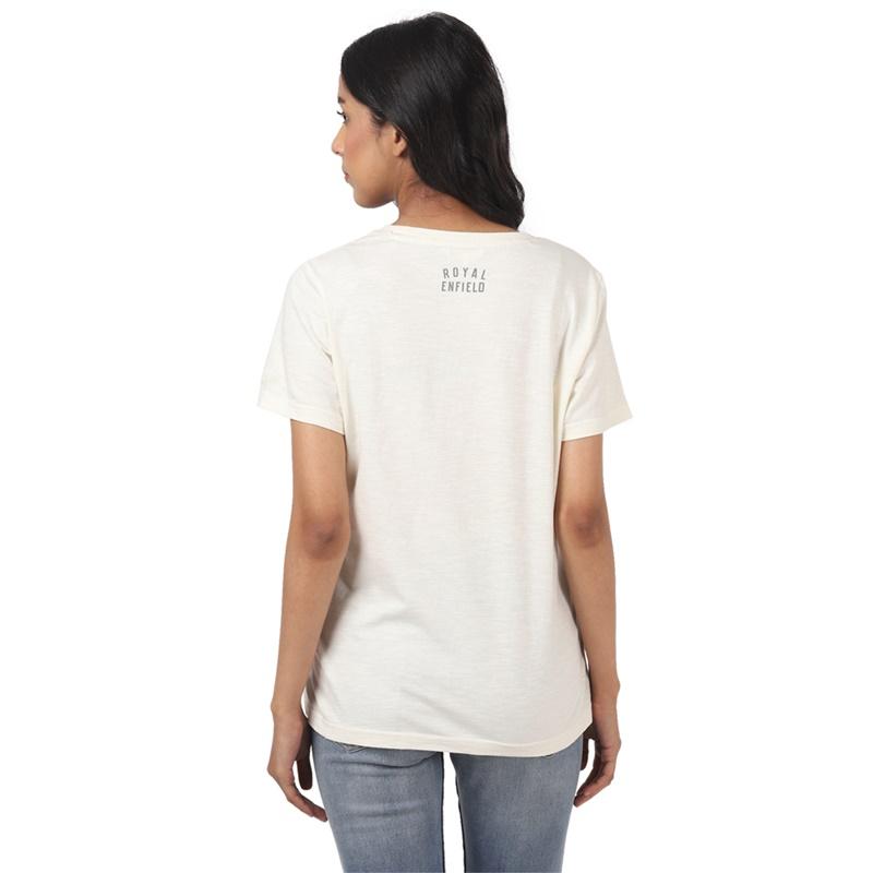 히말라얀 오프 화이트 반팔 티셔츠-3