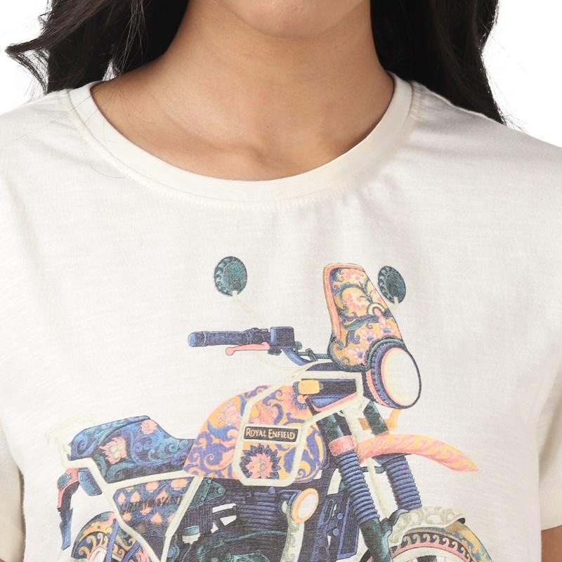 히말라얀 오프 화이트 반팔 티셔츠-6