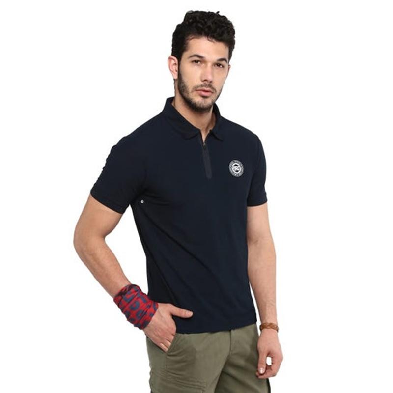 라이드 온 네이비 폴로 티셔츠-2