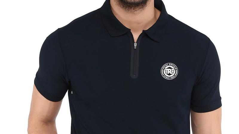 라이드 온 네이비 폴로 티셔츠-3