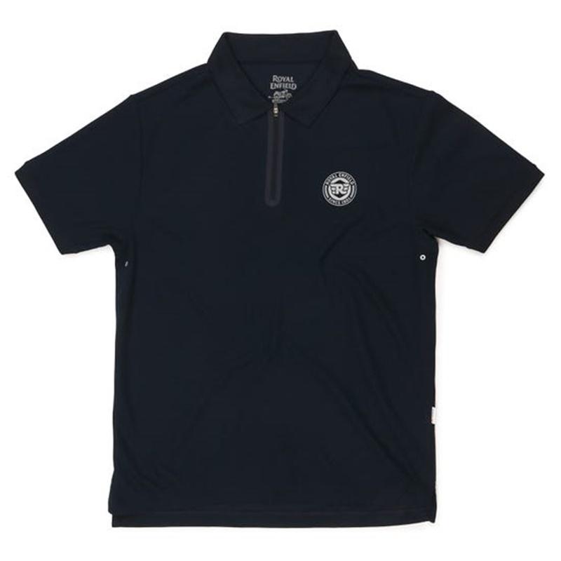 라이드 온 네이비 폴로 티셔츠-4