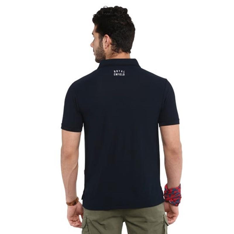 라이드 온 네이비 폴로 티셔츠-5
