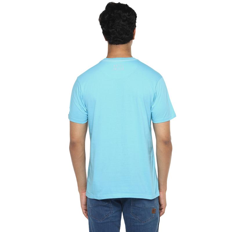 원더 러브 아쿠아 반팔 티셔츠-3