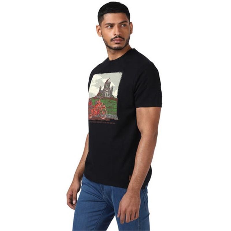 BASILICA OF ESZTERGOM 블랙 반팔 티셔츠-4